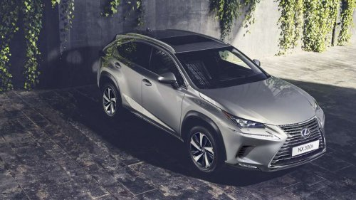 Facelifted 2018 Lexus NX says konnichiwa at IAA 2017 in Frankfurt
