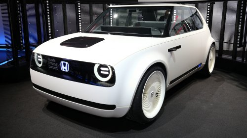 Honda Urban EV Concept previews retro styled city car at IAA 2017