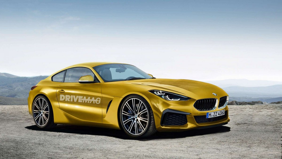 Bmw Z4 Roadster >> Bmw Z4 Roadster And Coupe Renderings Look Like Production Material