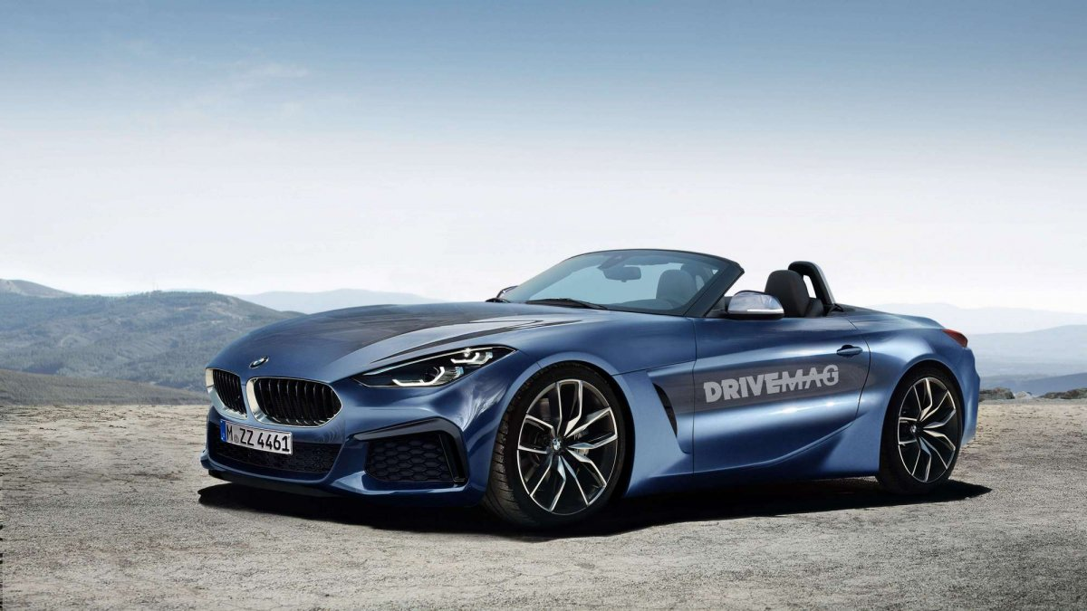 Bmw Z4 Roadster And Coup 233 Renderings Look Like Production