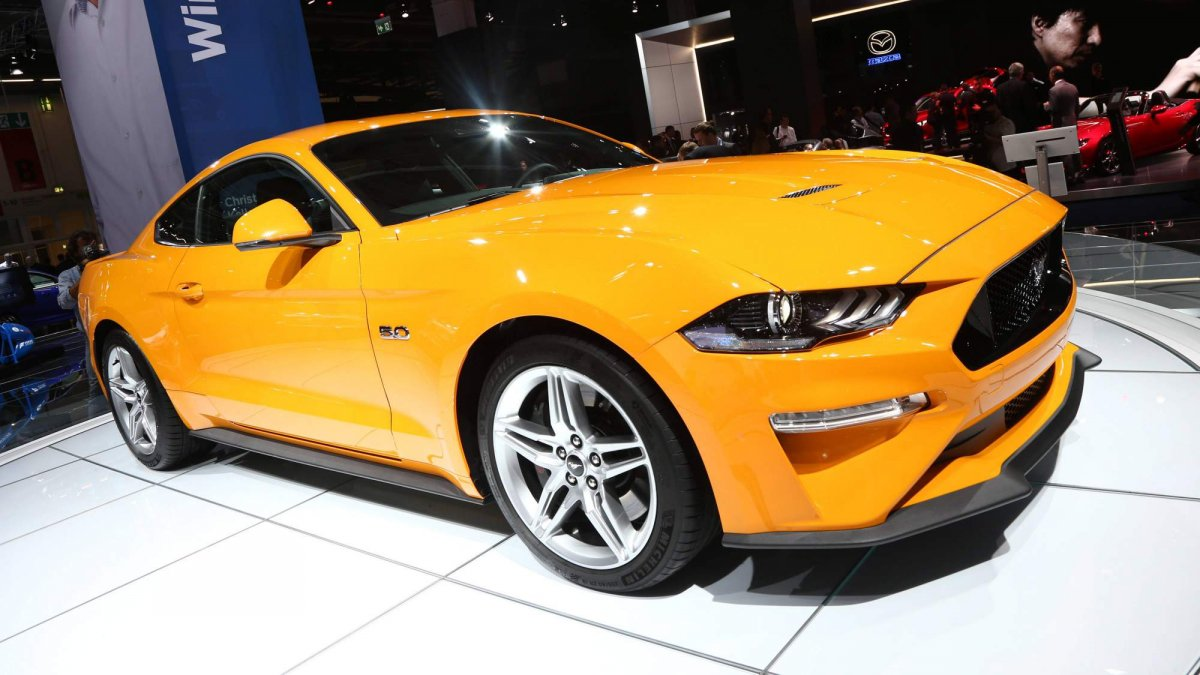 europe 39 s facelifted 2018 ford mustang detailed arrives next year. Black Bedroom Furniture Sets. Home Design Ideas