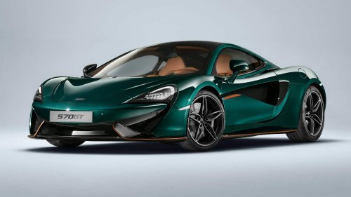 "MSO will build six of these ""XP Green"" painted McLaren 570GTs"