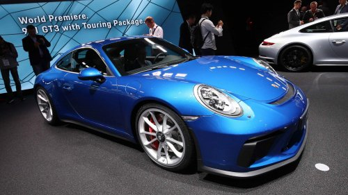 Porsche 911 GT3 with Touring Package has 500-hp flat-six engine, manual transmission