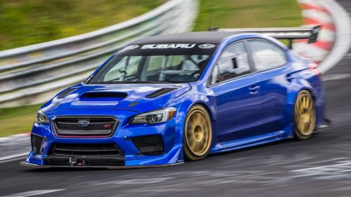 Onboard video of Subaru WRX STI Type RA NBR Special's Nürburgring lap is downright scary