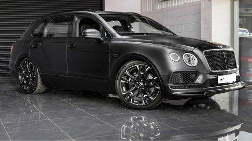 Kahn Design thought Bentley's Bentayga SUV needed a Le Mans edition