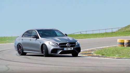 Chris Harris completely won over by Mercedes AMG E63 S