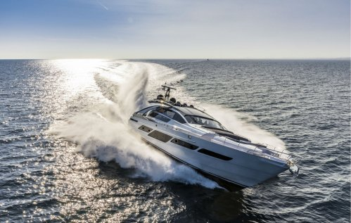 First Pershing 9X superyacht launched