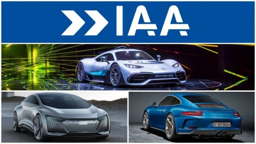 Top 10 cars and concepts shown at IAA 2017 in Frankfurt