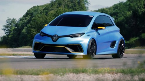 Renault Zoe E-Sport gets thrashed on track