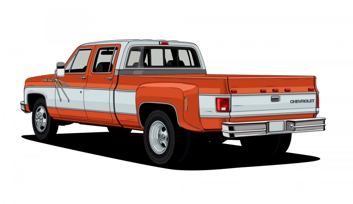 All Chevy c30 chevy : Chevrolet looks back at 10 of its most iconic pickup truck designs