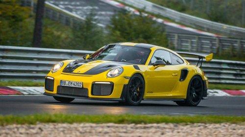 Watch 2018 Porsche 911 GT2 RS' 6min47.3s Nürburgring lap record