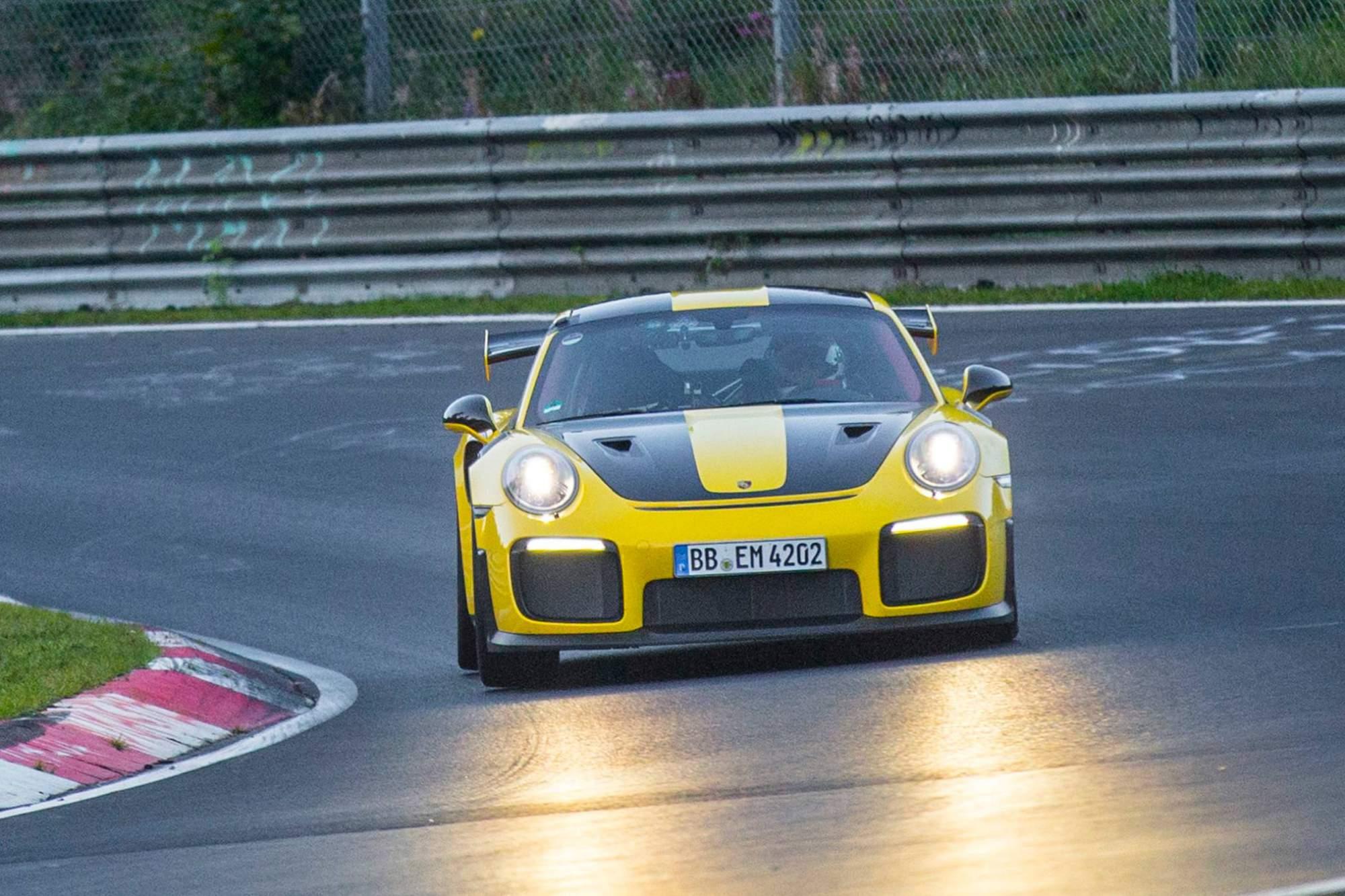 2018-Porsche-911-GT2-RS-Nurburgring-lap-record-9-2782 Interesting Porsche 911 Gt2 Rs Nurburgring Lap Cars Trend