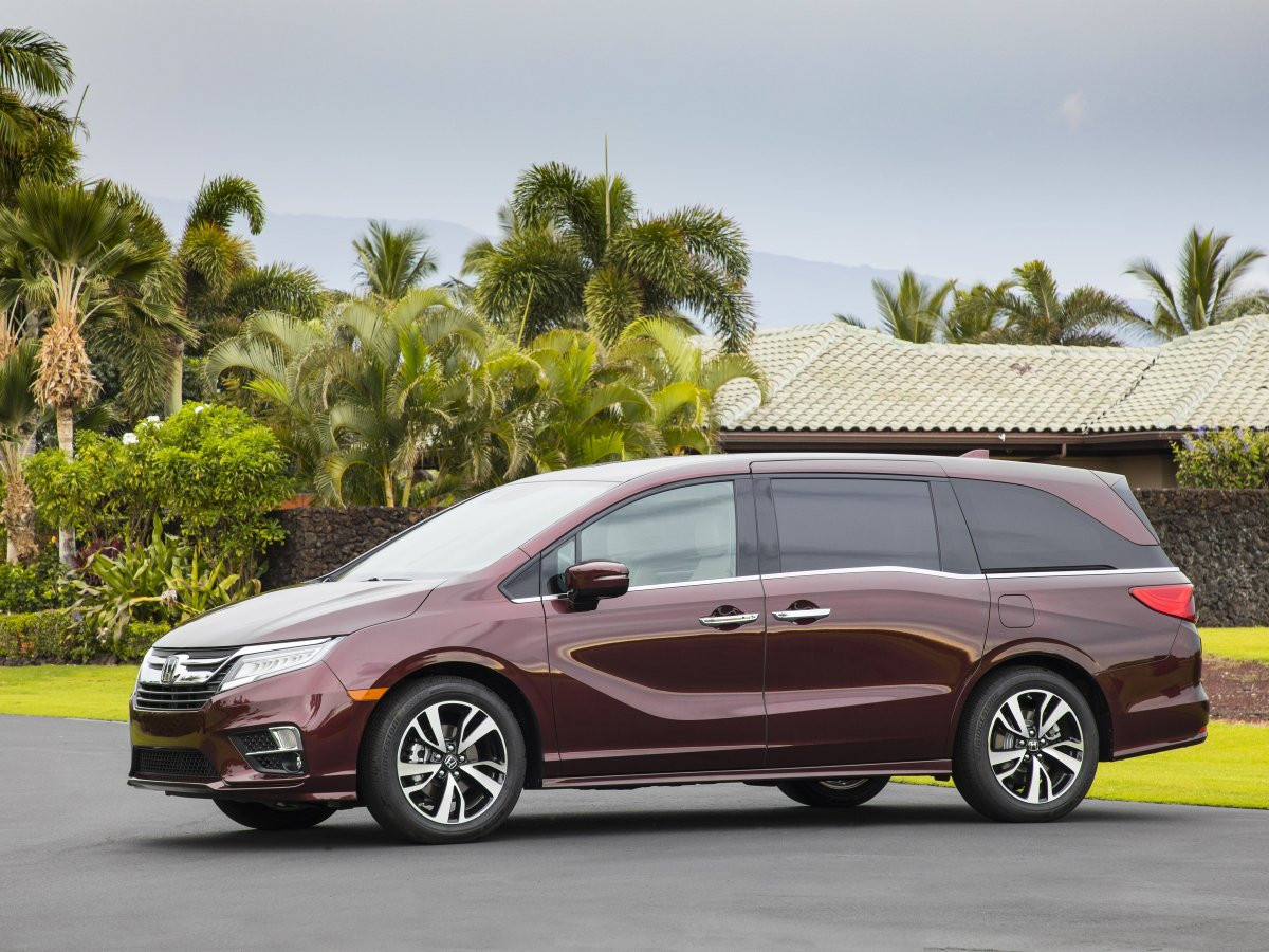 Honda Odyssey Is One Of The Safest Cars In America