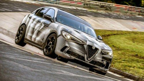 2018 Alfa Romeo Stelvio Quadrifoglio is now the quickest SUV on the Nürburgring