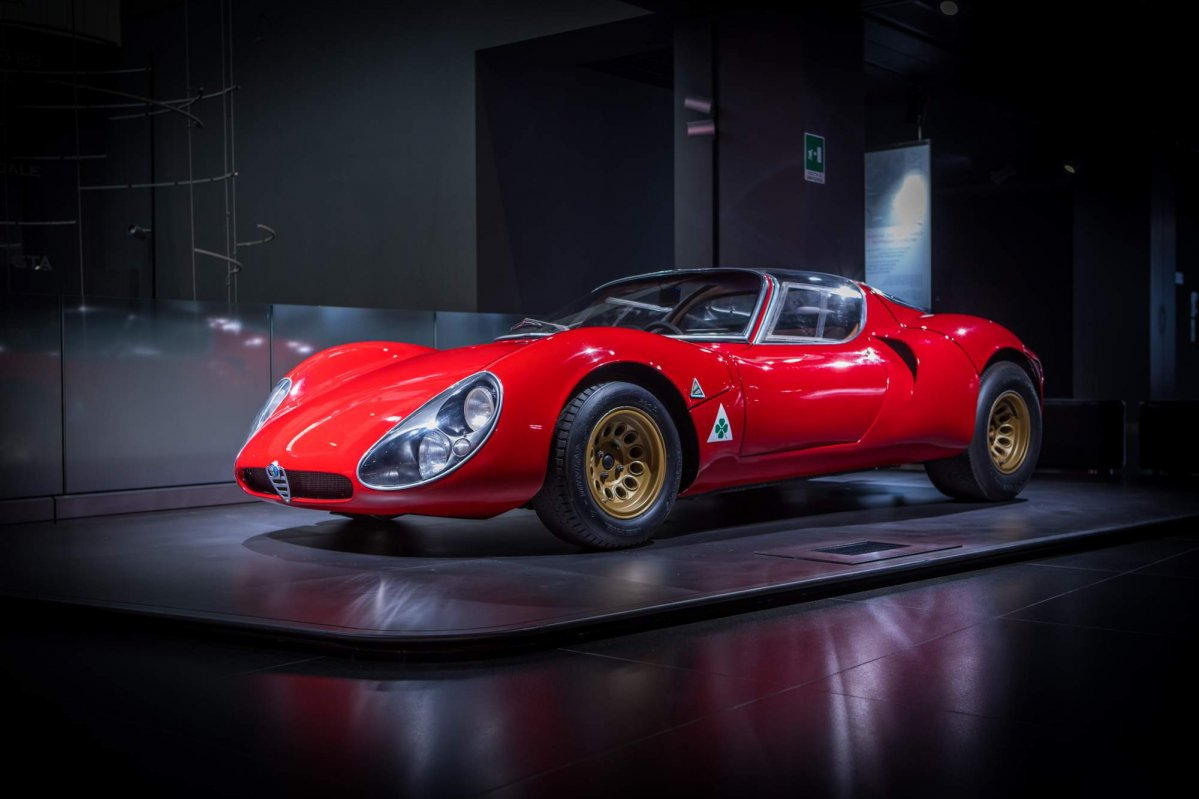 alfa romeo 33 stradale turns 50 is still the most beautiful car ever. Black Bedroom Furniture Sets. Home Design Ideas