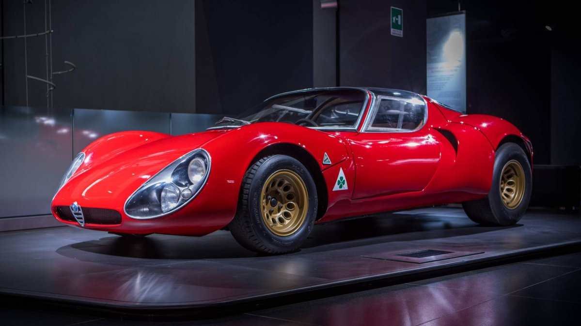 Alfa Romeo 33 Stradale Turns 50 Is Still The Most