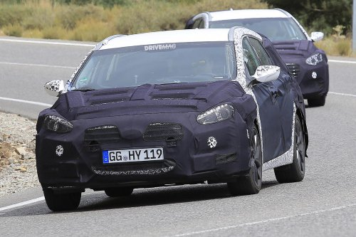 2018 Hyundai i40 facelift is ready to roll out