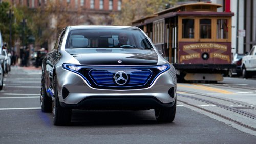 Mercedes-Benz will build EQ electric SUVs in the United States