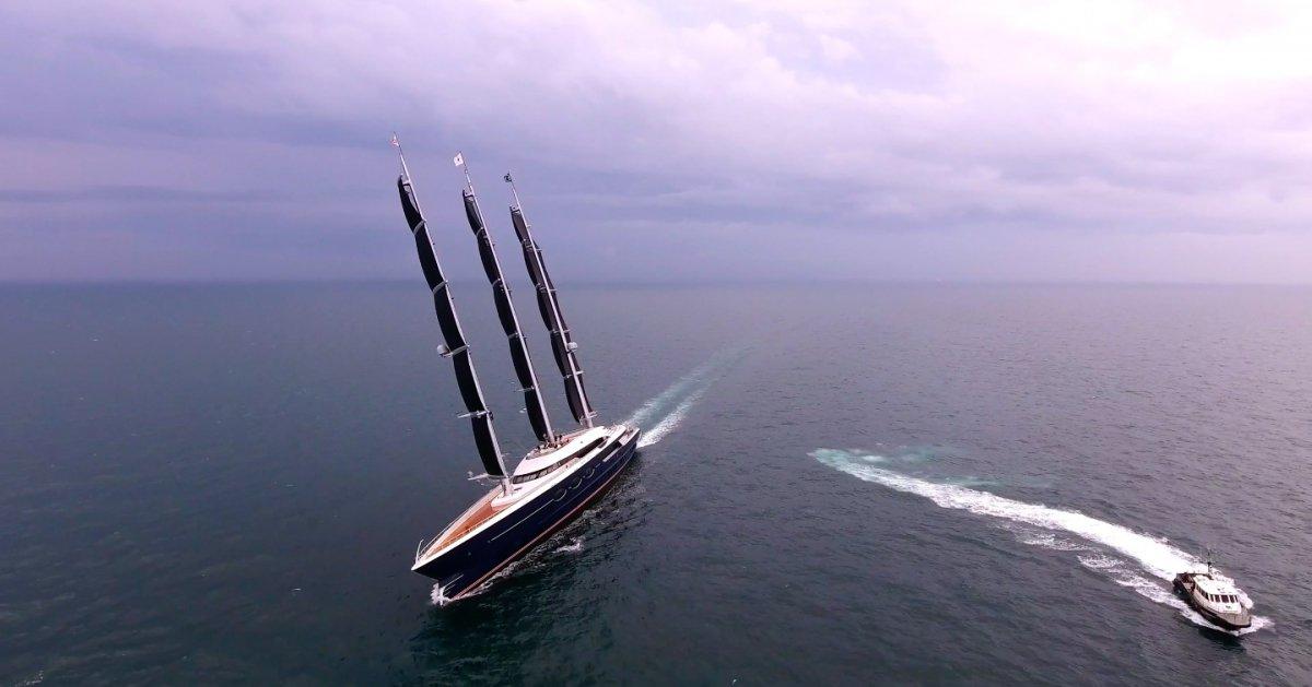 Video: The story of Oceanco's 106m S/Y Black Pearl