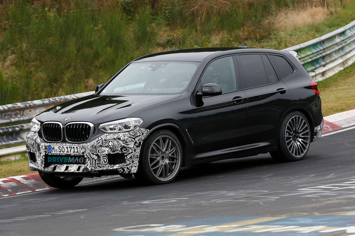 bmw x3 m flaunts lightly camouflaged body on the ring. Black Bedroom Furniture Sets. Home Design Ideas