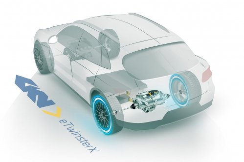 GKN eTwinsterX is the transmission of the future