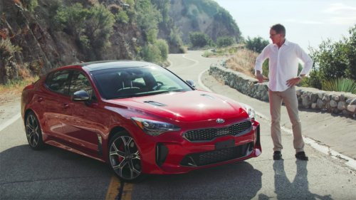 2018 Kia Stinger wins over reviewer on road and track