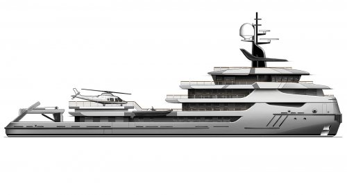 Icon Yachts will convert an icebreaker into a luxury yacht