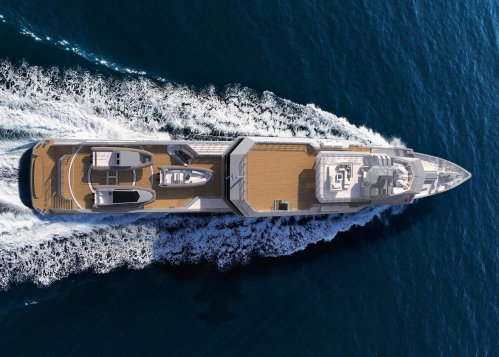M/Y Silver Loft is an 85m superyacht currently in build in Australia