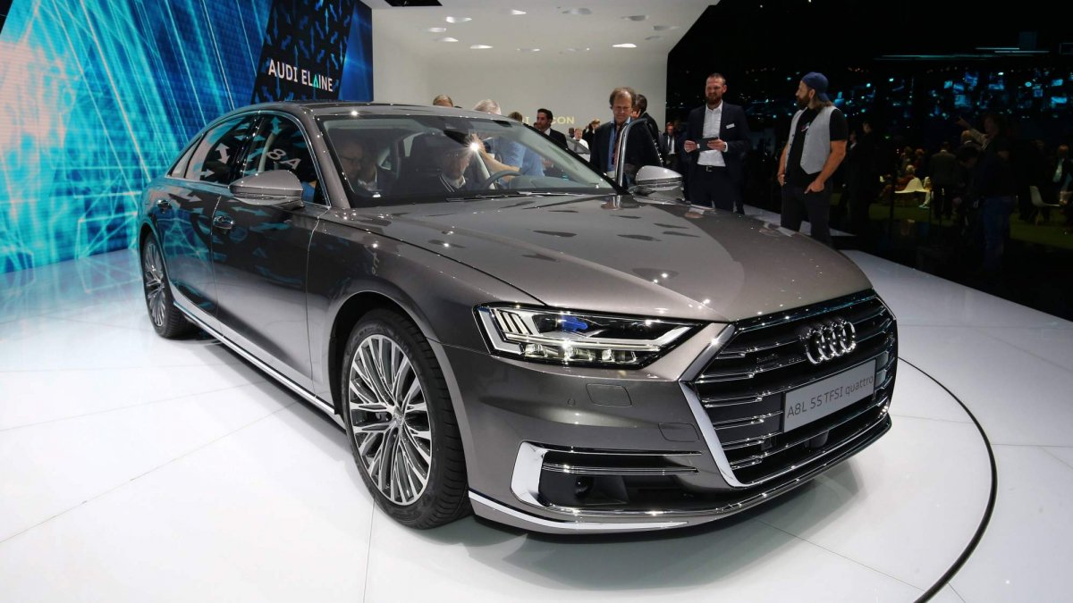 all new 2018 audi a8 priced from 90 600 in germany arrives in late. Black Bedroom Furniture Sets. Home Design Ideas