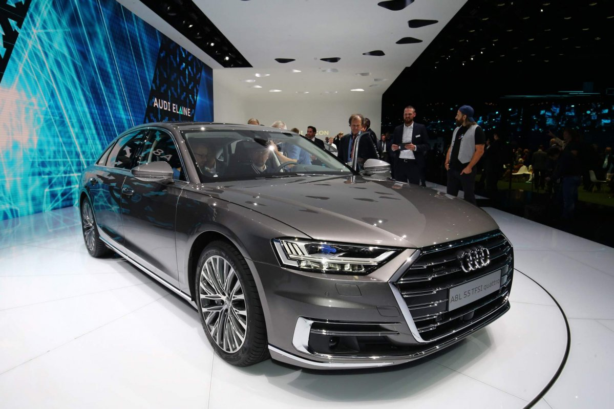 All New 2018 Audi A8 Priced From 90 600 In Germany Arrives In Late