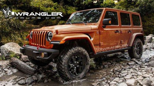 UPDATED: 2018 Jeep Wrangler JL to debut with 368 HP 2-liter turbo engine