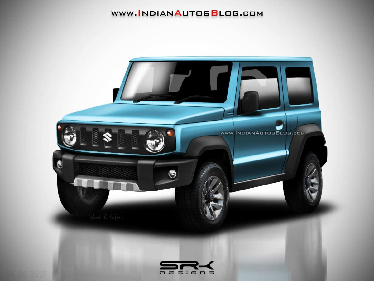 New Jimny 2018 >> All-New Suzuki Jimny rendered in multiple colors