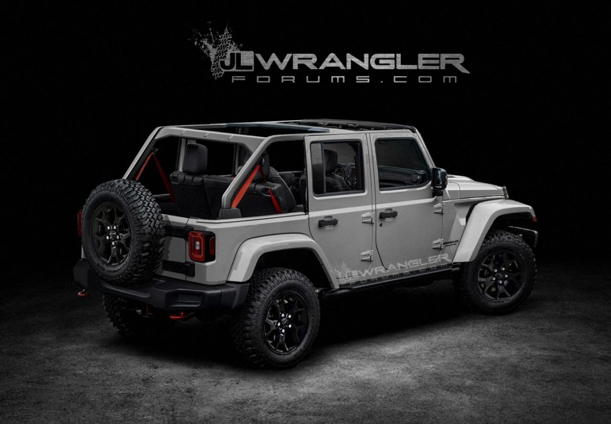 2018 jeep wrangler jl to debut with 368 hp 2 liter turbo engine. Black Bedroom Furniture Sets. Home Design Ideas