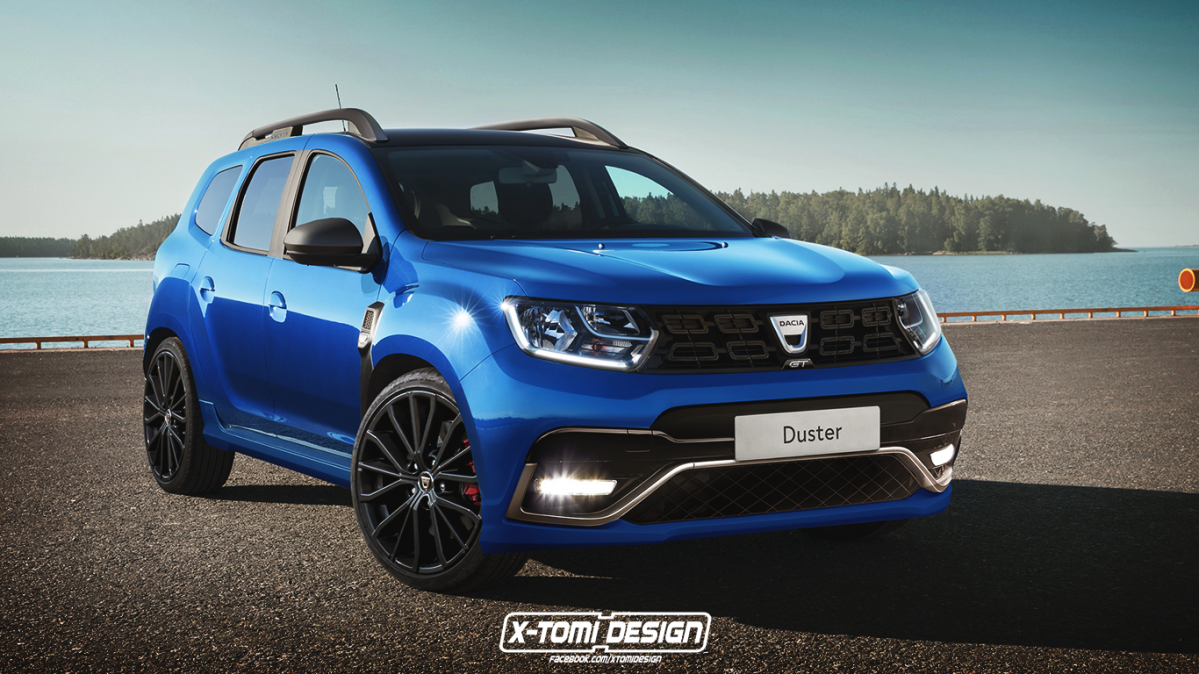 new 2017 dacia duster rendered in gt clothing. Black Bedroom Furniture Sets. Home Design Ideas
