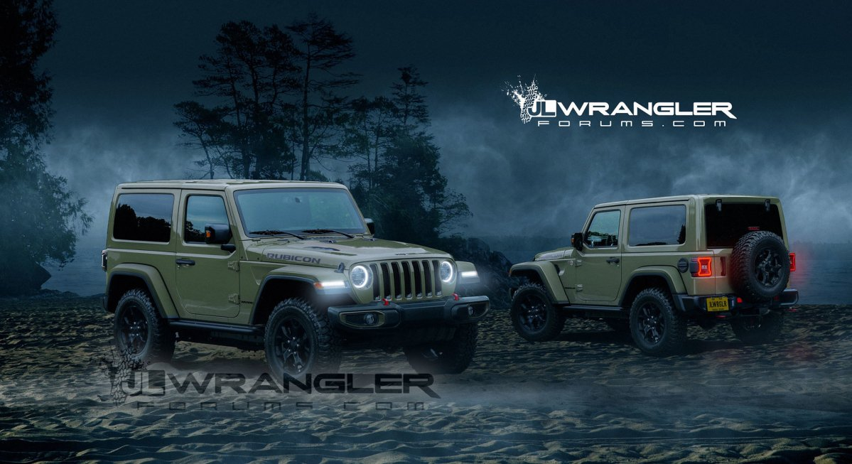 2018 jeep debut. brilliant debut updated 2018 jeep wrangler jl to debut with 368 hp 2liter turbo  engine throughout jeep t