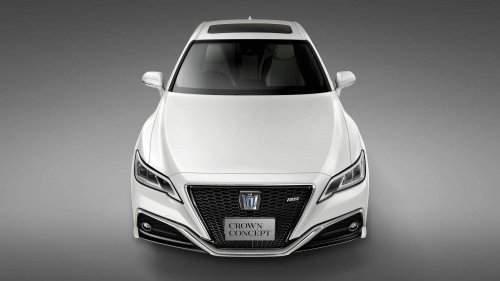 Toyota Crown Concept previews brand's next-generation luxury sedan