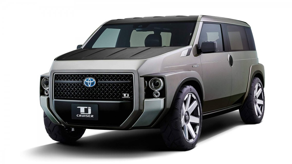 Toyota Tj Cruiser Concept Is A Funky Looking Cross Between Cargo Van And An