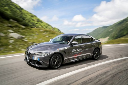 Alfa Romeos take Transfăgărășan by storm