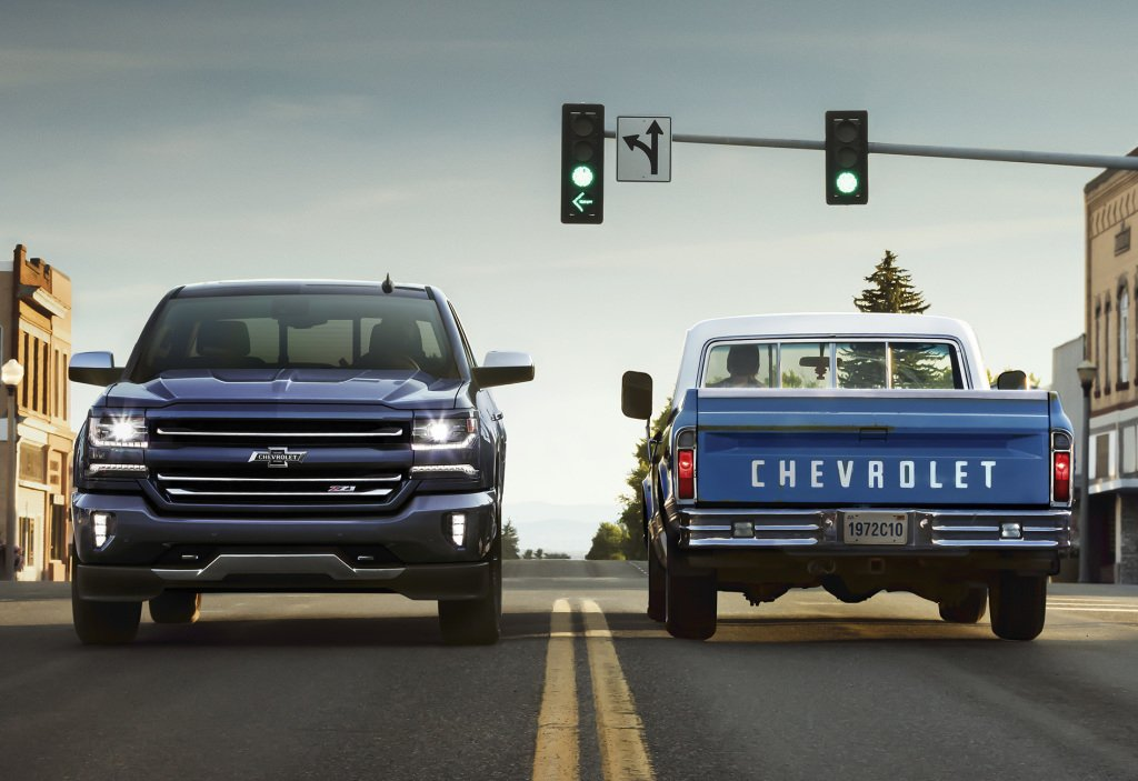 2018 Chevrolet Trucks Receive Centennial Edition