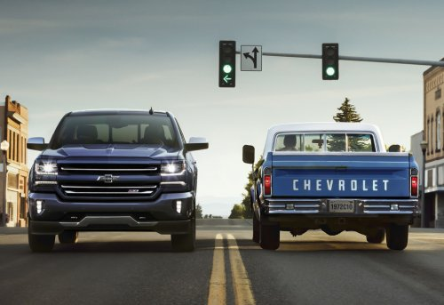 2018 Chevrolet trucks receive Centennial edition