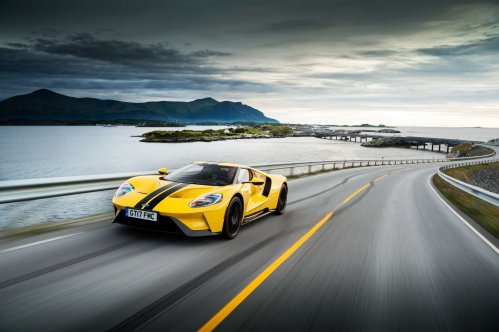 Watch the Ford GT take on the Atlantic Ocean Road in Norway