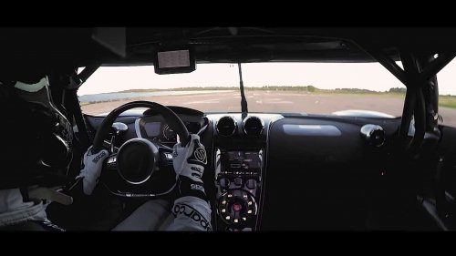 Koenigsegg Agera RS is now the fastest 0-400-0 km/h vehicle in the world