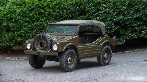 Before the Cayenne and Macan, Porsche built the Jagdwagen 4x4