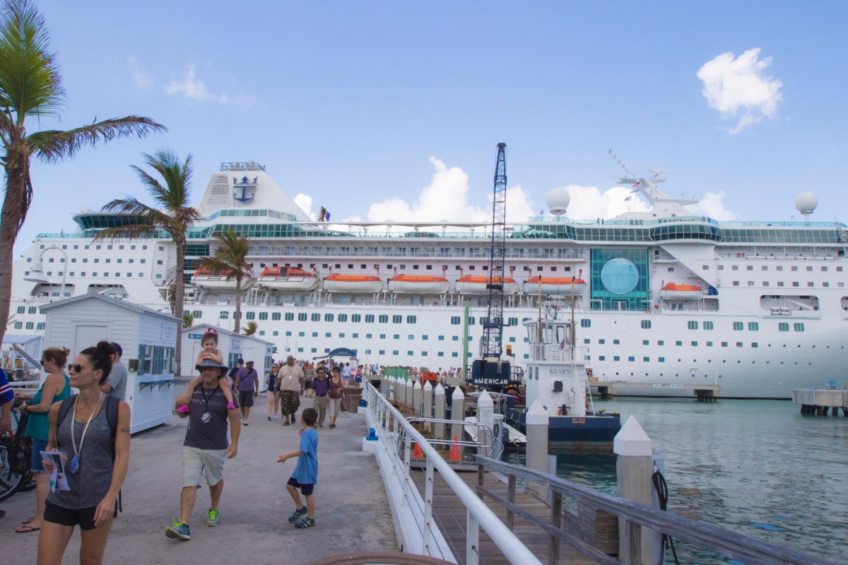 Royal Caribbean Sent A Cruise Ship Filled With Supplies To Puerto - Cruise ship supplies