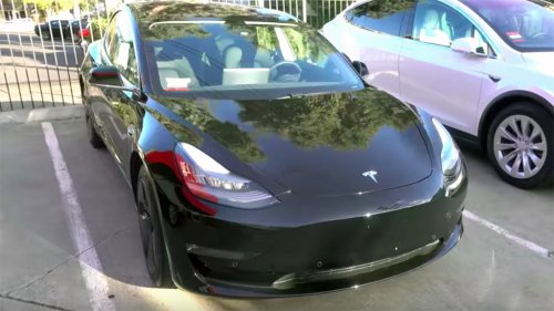 First look at the production-spec Tesla Model 3