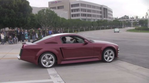 This Ford Mustang is actually a Lamborghini Gallardo