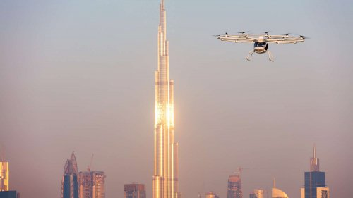 Volocopter's electric air taxi completes first autonomous demo flight in Dubai
