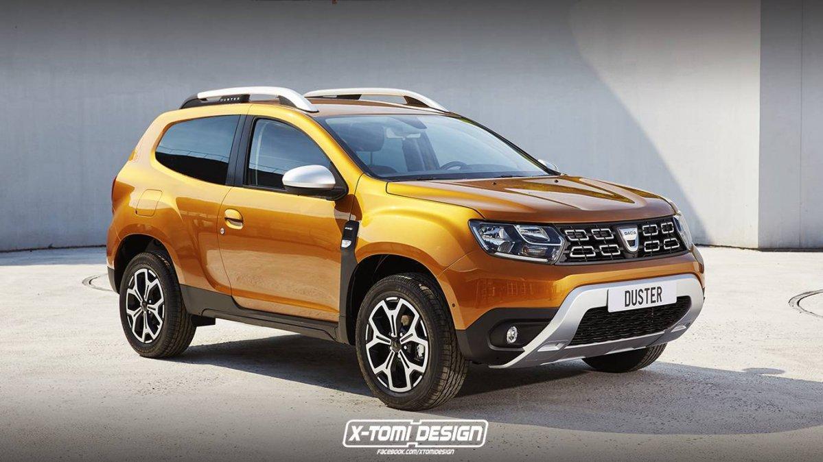 Dacia Pickup 2017 >> New 2017 Dacia Duster imagined as pickup and three-door SUV