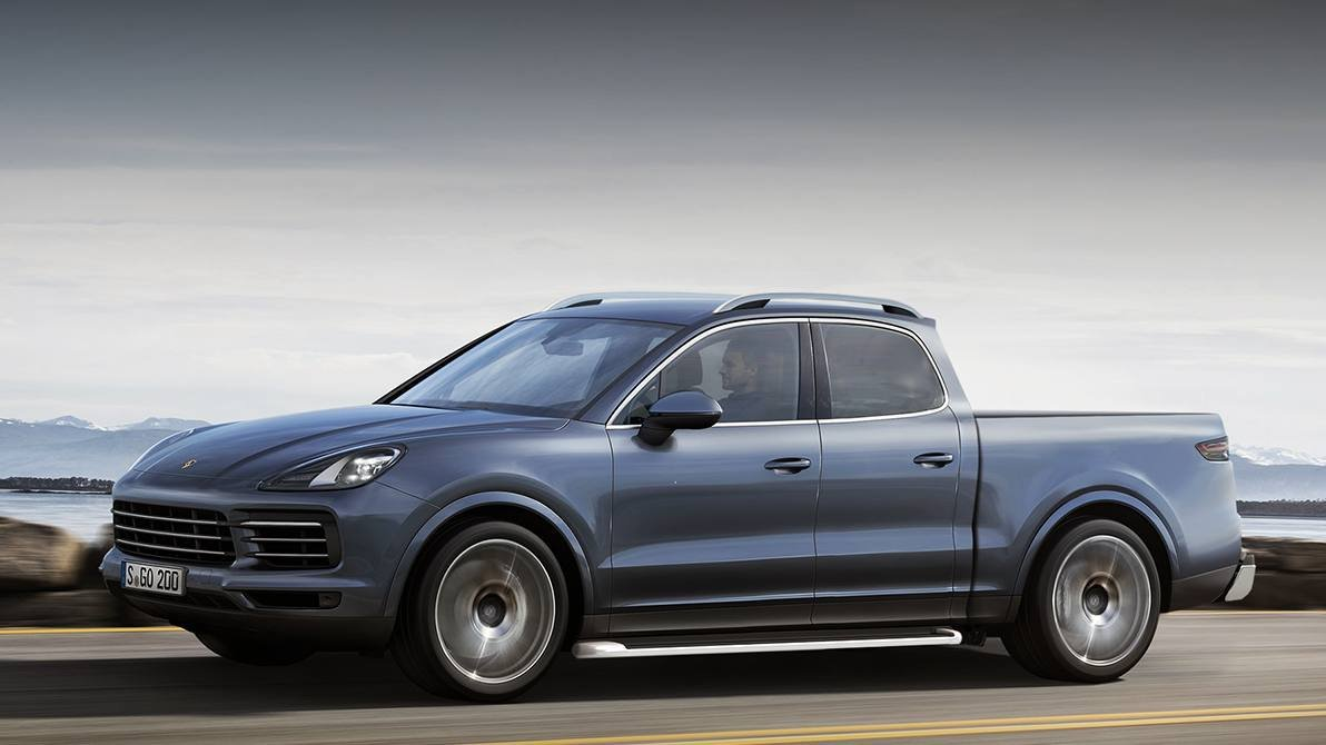 2018 Mercedes Pick Up Truck >> Would a Porsche Cayenne SUV turned pickup truck surprise anyone?