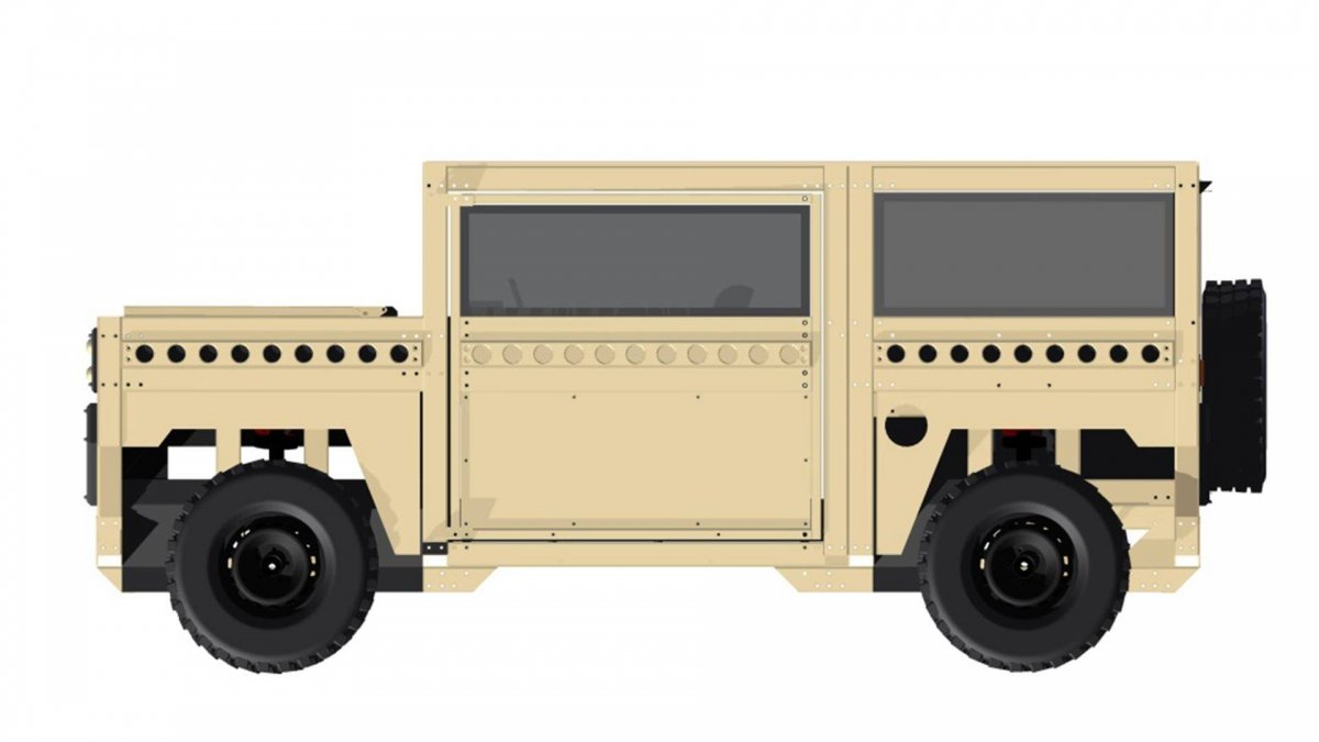 partisan motors one suv is the definition of basic. Black Bedroom Furniture Sets. Home Design Ideas